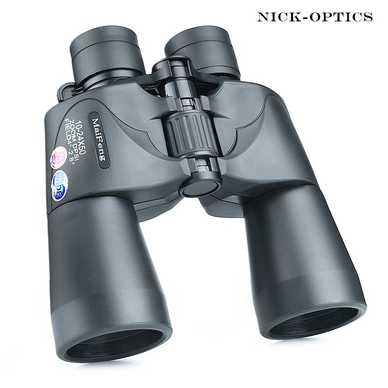Binocular Olympus 10-24X50 Powerful Zoom for Hunting telescope Professional binoculars high definition nitrogen waterproof