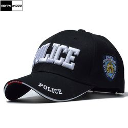 [NORTHWOOD] POLISI baru Mens Topi Taktis SWAT Topi Baseball Pria Wanita Snapback Tulang Gorras Para Hombre Masculino Army Cap Surat