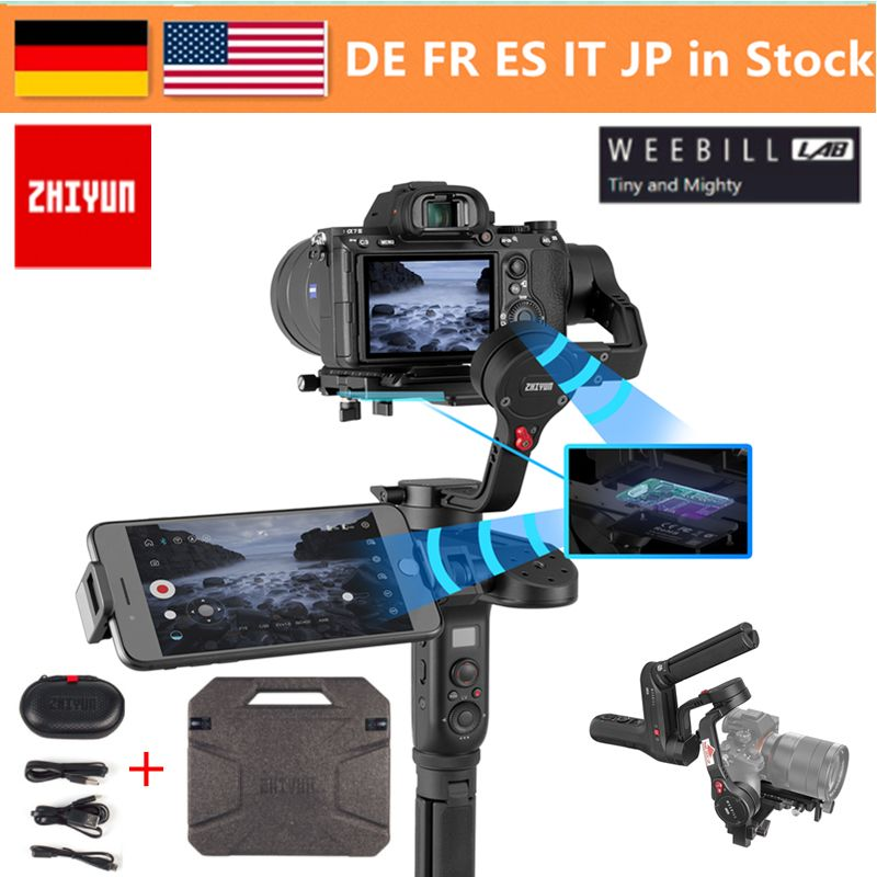 In Stock Zhiyun Weebill LAB 3-Axis Wireless Image Transm Camera Stabilizer for Mirrorless Camera OLED Display Handheld Gimbal
