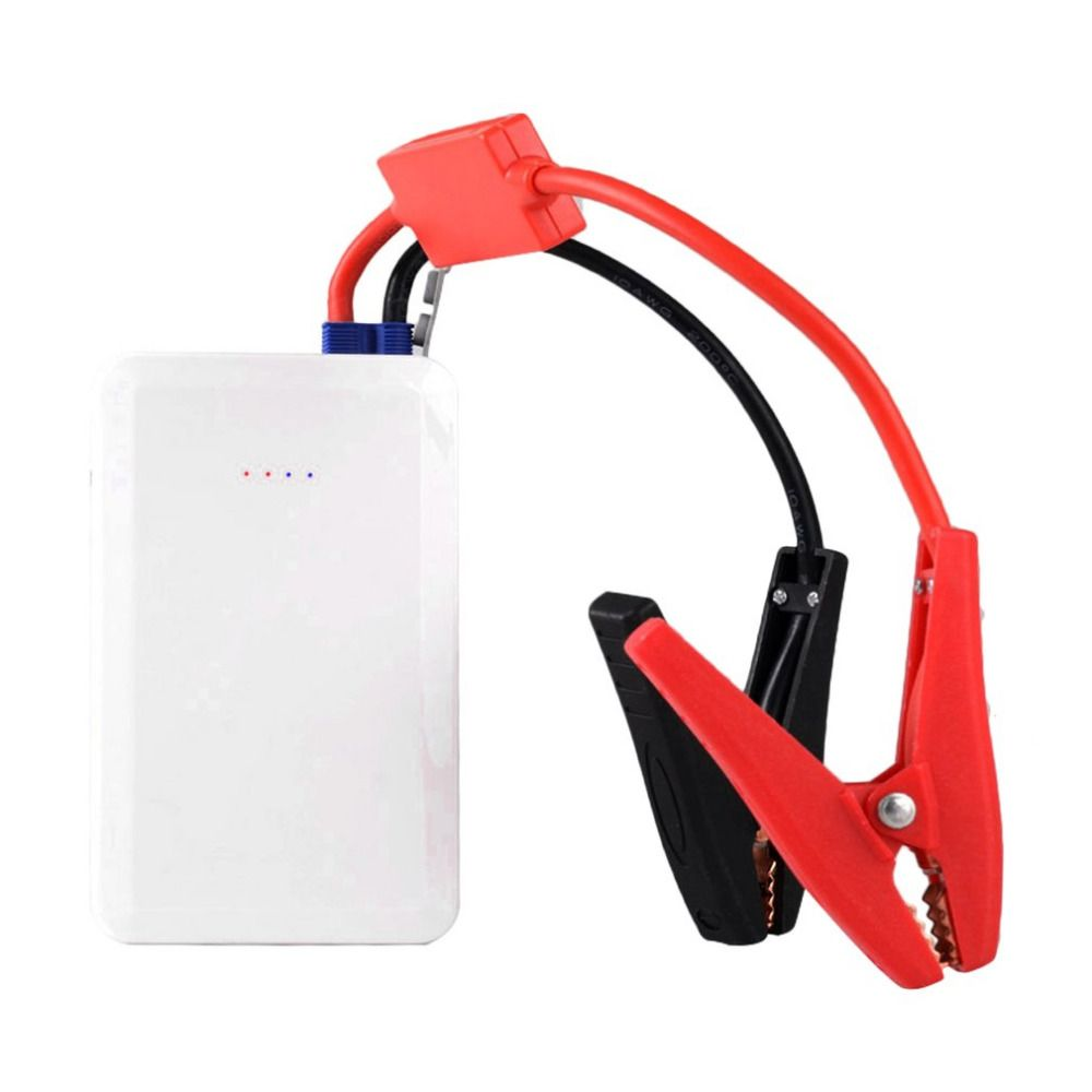 Portable Auto Cars Emergency Start Ultra-thin Car Jump Starter Multifunctional Power Bank 12V Battery Charger 7500 mAh