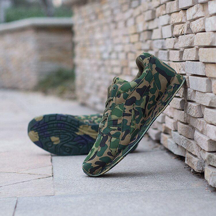 2017 new large desert digital camouflage military shoes breathable extra large size men size 36~48 casual shoes free shipping