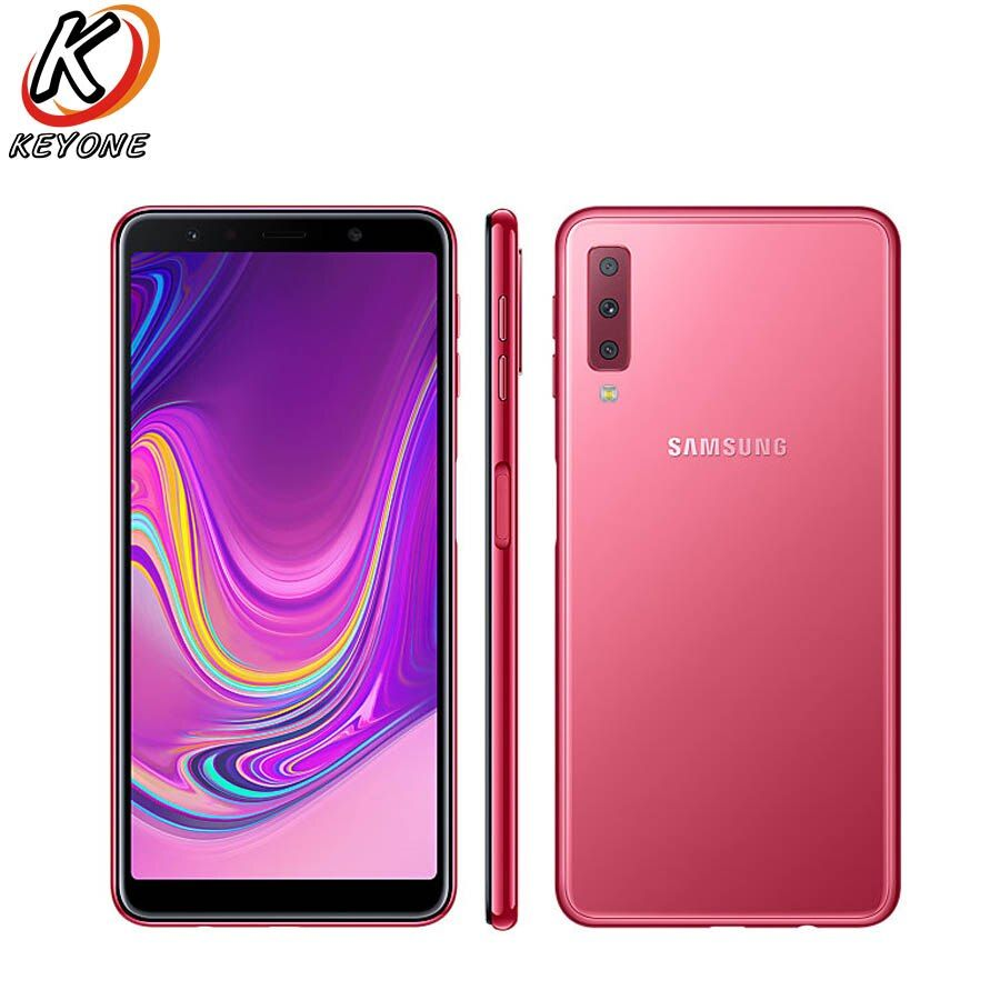 New Samsung Galaxy A7 A750GN-DS 4G LTE Mobile Phone 6.0