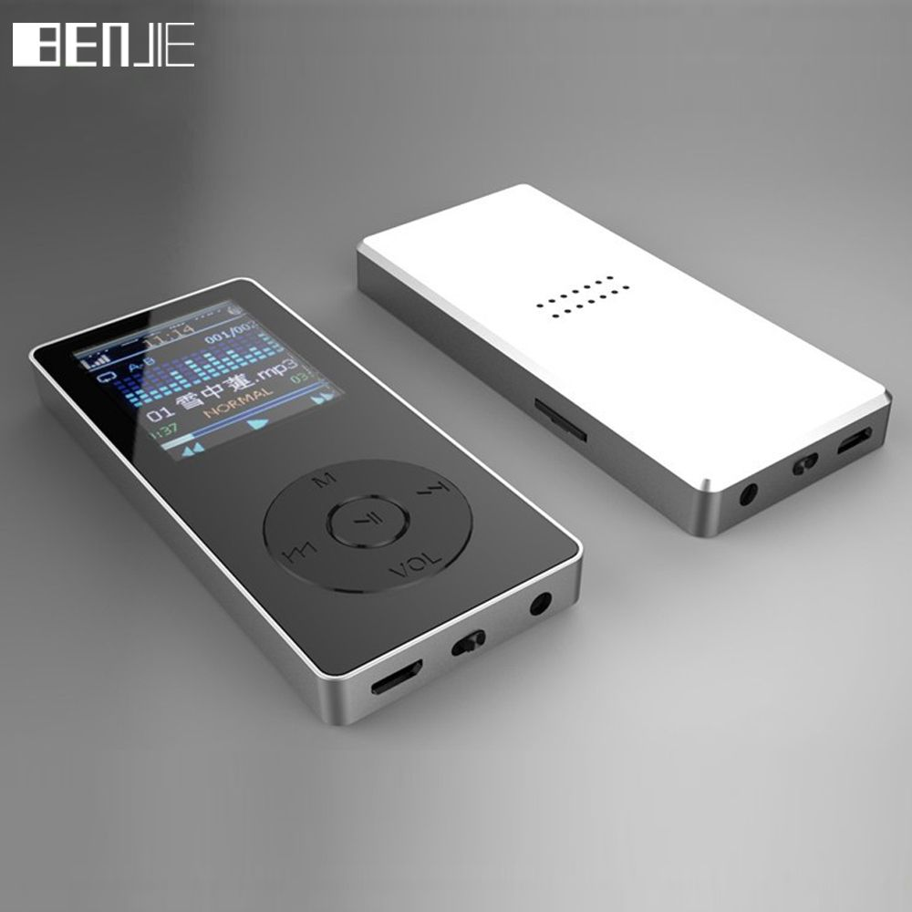 BENJIE K9 K-Nine Original 8GB Lossless Music HIFI MP3 <font><b>Player</b></font> 1.8 TFT Color Screen Support TF Card FM With Built-in Speaker MP3
