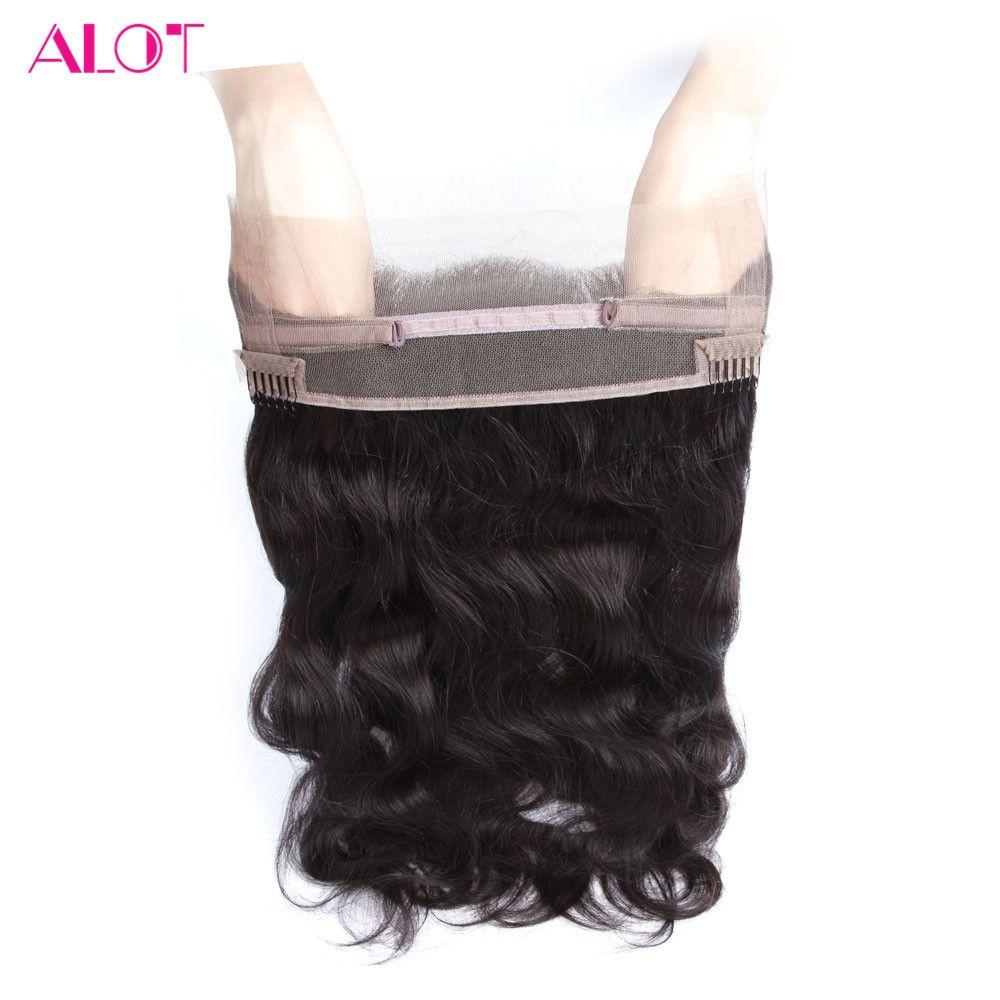 Много перуанский Средства ухода за кожей волна 22*4*2 pre сорвал 360 Синтетический Frontal шнурка волос с ребенком волос свободной части Синтетическ...