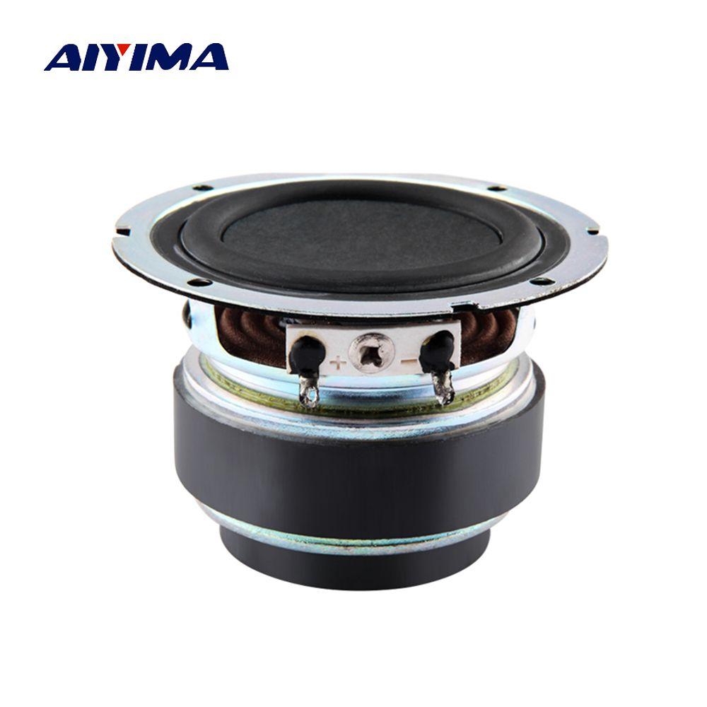 Aiyima 1PC 2.75 inch Full Range Speaker 6ohm Bluetooth Speaker Fever Midrange Bass Loudspeaker 15-30W