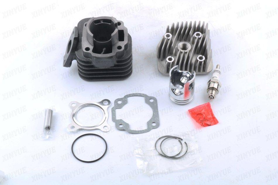 40mm/10mm cylinder kit + cylinder head cover + spark plug for MBK Forte Flipper Cat  Fizz Ovetto Eu1-Eu2 40mm/10mm