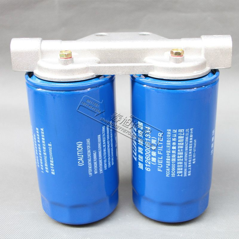 AUTO truck tractor diesel fuel filter assembly for 612600081334 CLX-251 The seat is suitable for M20X1.5