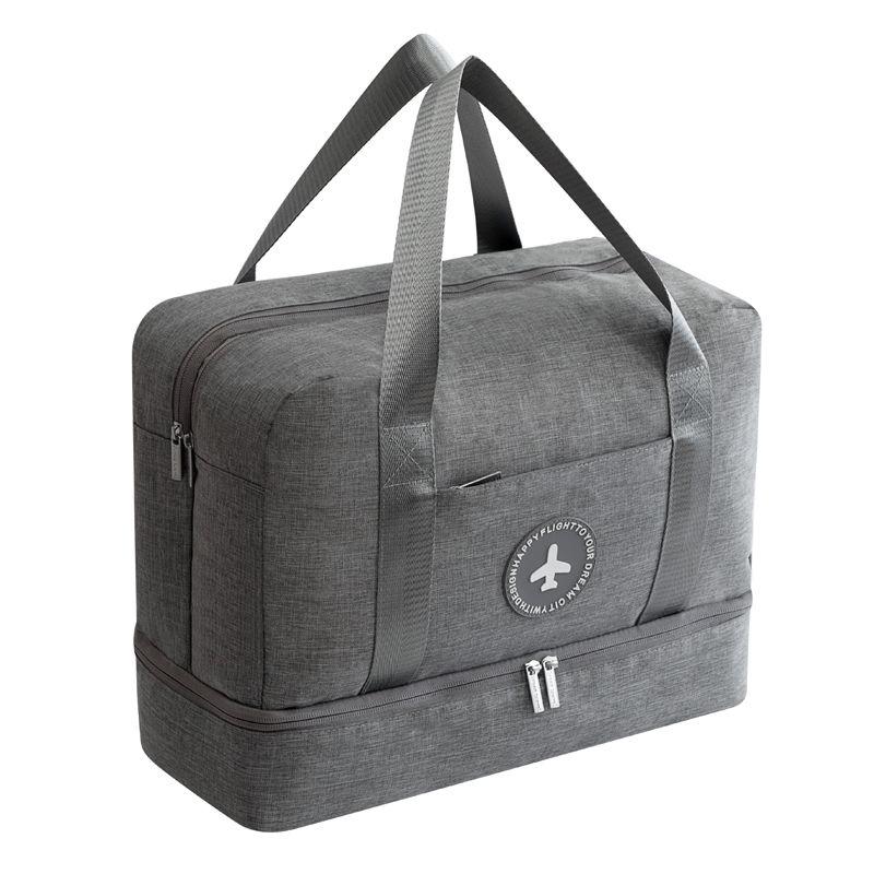 Nouveau sac de voyage étanche en tissu cationique sac de plage Double couche de grande capacité sacs de sport portables emballage sacs de week-end Cube
