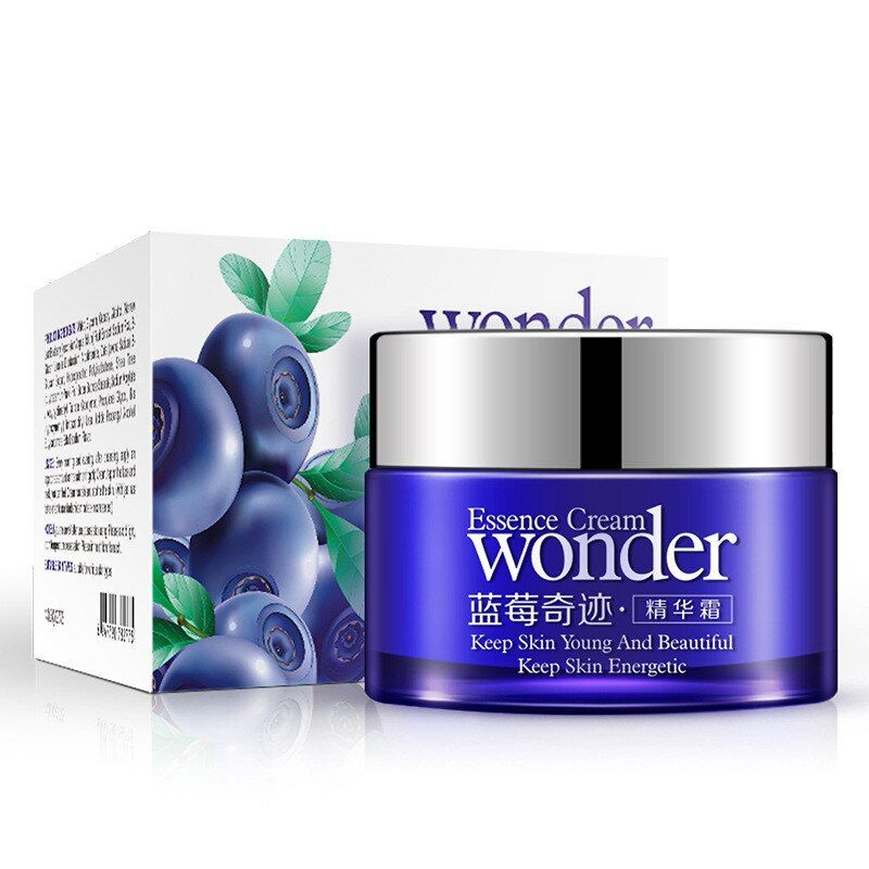 BIOAQUA Blueberry Essence Whitening Moisturizing Day Cream Deep Hydrating Anti Wrinkle Anti-Aging Face Cream