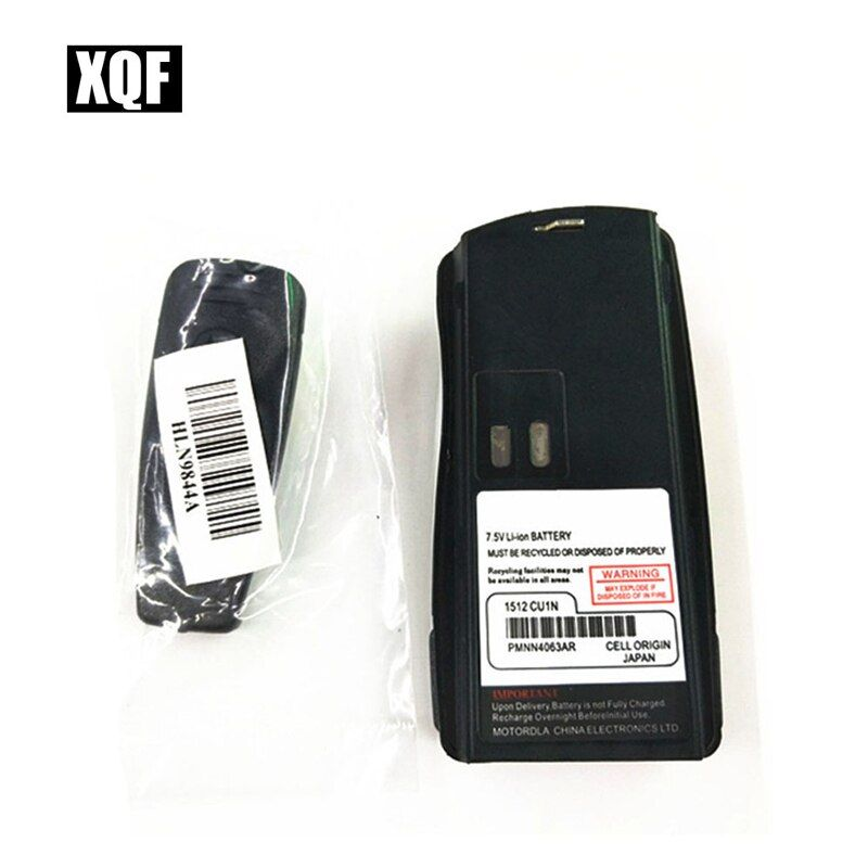XQF 1800 mAh Li-ion Batterie Pour MOTOROLA CP125 PRO2150 GP2000 Talkie Walkie