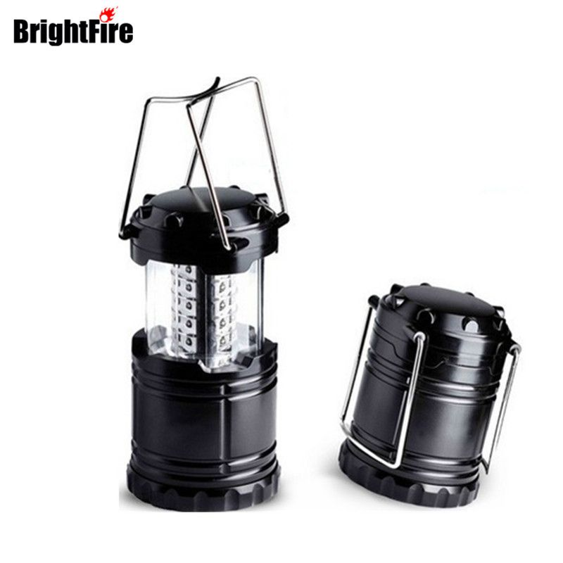 High Power Ultra <font><b>Bright</b></font> 30 LED Camping Light Collapsible Camping lantern for Hiking Camping