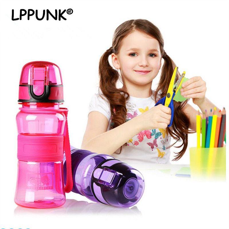 Vente chaude 300 ml BPA Livraison Creative portable En Plastique BOUILLOIRE enfants Espace fruits jus de mon Eau Bouteille Avec pop- up couvercle thé infuser