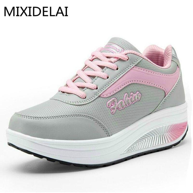 2017 NOUVELLES Femmes De Mode Casual Chaussures Pas Cher Appartements de Femmes Chaussures Respirant Zapatillas Casual Chaussures EUR Taille 35-40