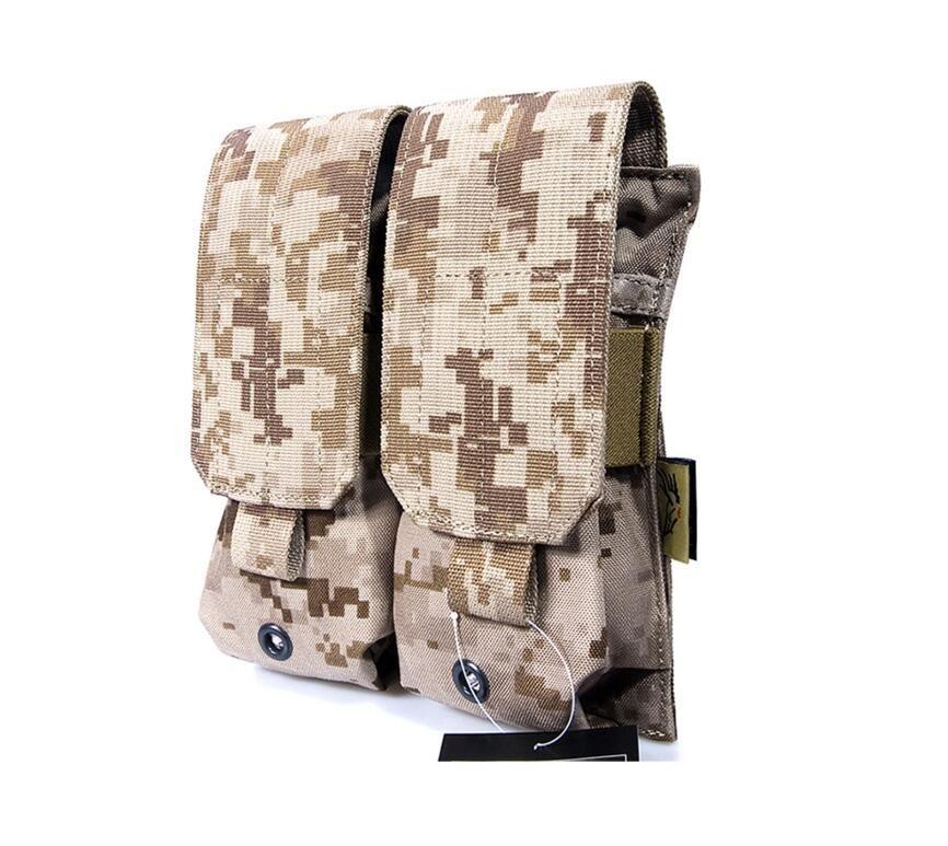 FLYYE MOLLE nylon Doppel dual patrone AMMO M4/M16 Mag Pouch Military CORDURA PH-M002