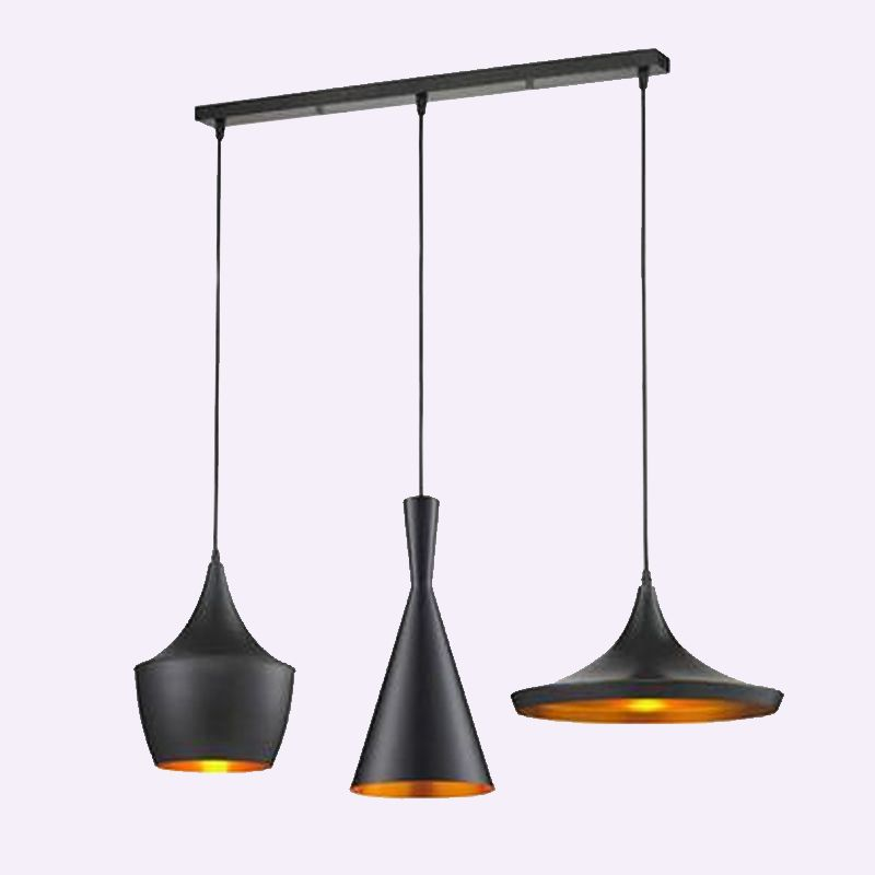 1 ensemble ABC suspension lumières Loft lampe Instrument nordique Hanglamp Restaurant cuisine salon boutique Bar éclairage industriel