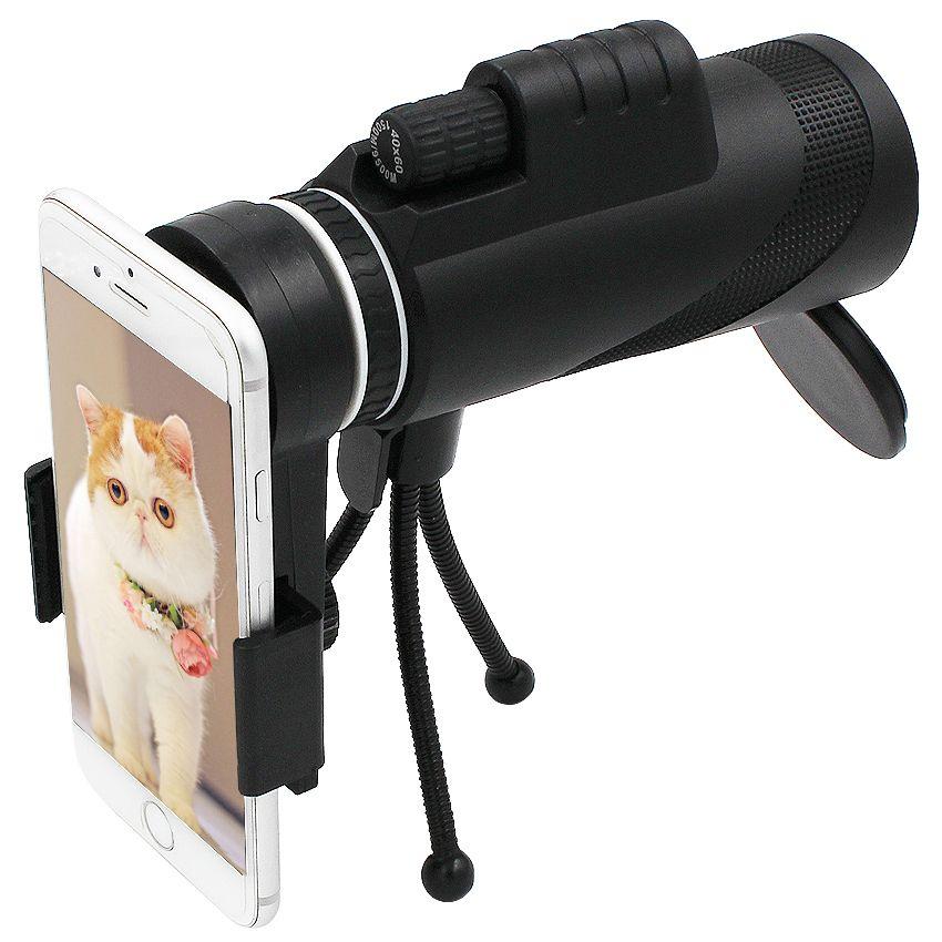 Kogngu 40X Zoom Objectif pour Smartphone Télescope pour Mobile Téléphone Telescopio Smart Téléphones Caméra Monoculaire Lentille Para Celular