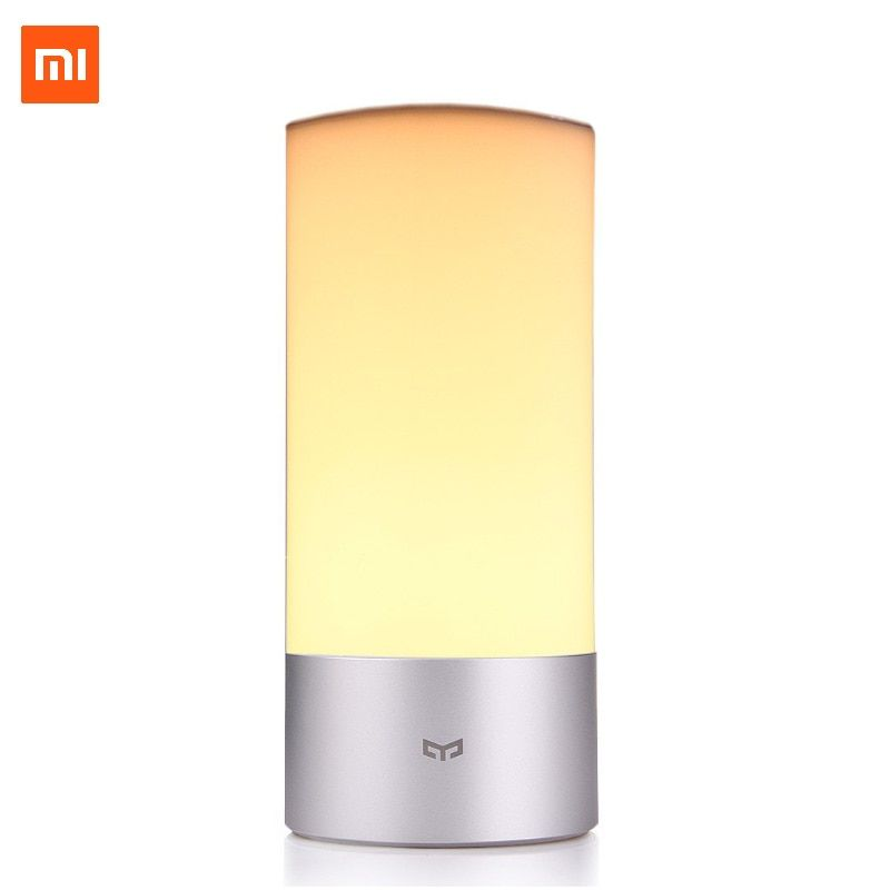 Xiaomi Yeelight Desk lamp Smart LED Bedside <font><b>Table</b></font> Cylinder Lamp Touch Dimmable Smartphone Remote Control Color Changing RGB