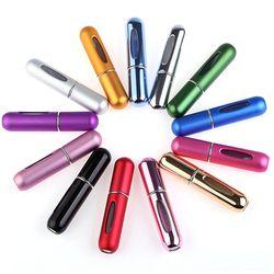 5 мл портативные мини алюминиевые многоразовые бутылки для хранения парфюм Спрей Пустые Косметические Контейнеры Для пульверизаторов для ...