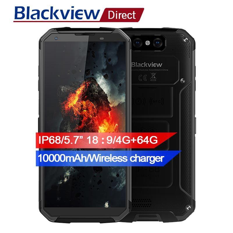 Blackview BV9500 10000mAh IP68 Waterproof 16MP Camera NFC Wireless charger 5.7