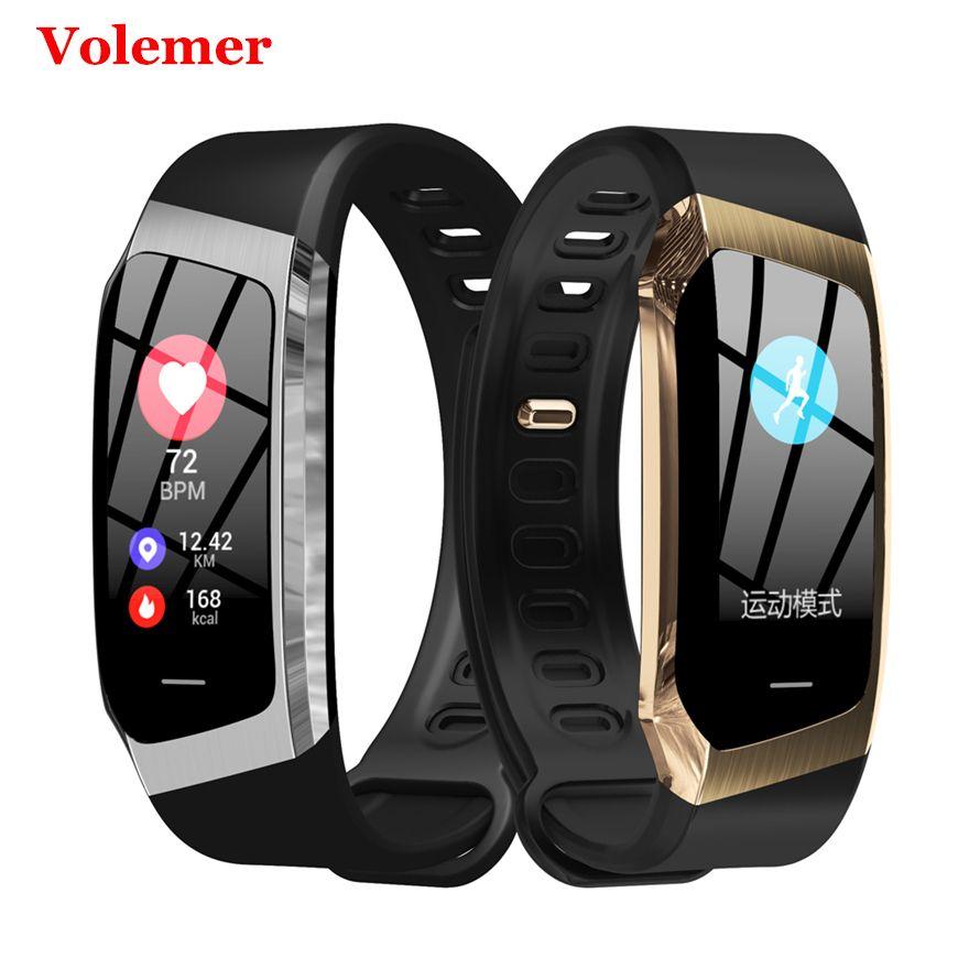 Volemer Original E18 bande intelligente Ip67 étanche pression artérielle oxygène moniteur de fréquence cardiaque Sport Fitness Bracelet Pk Honor Band4