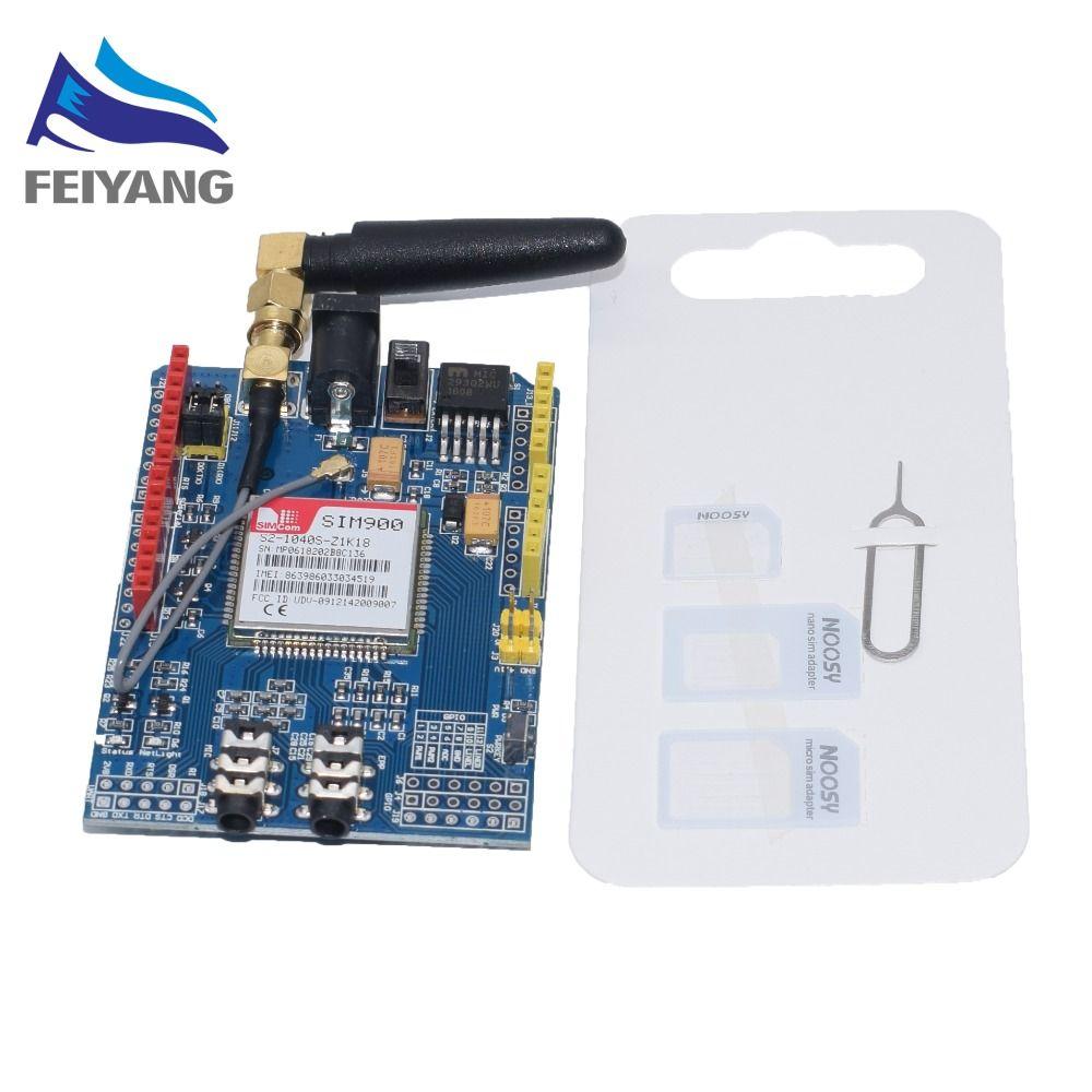 SIM900 GPRS/GSM Schild Development Board Quad-Band Modul Kompatibel