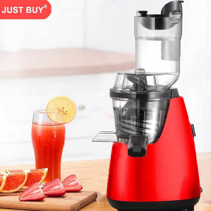 2018 High Quality NEW Electric Citrus Set Auger Juicers Extractor Masticating Fruit Vegetable Juice