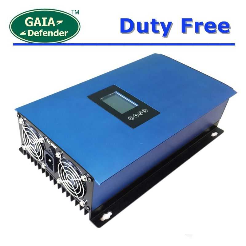 Duty-Free 1000W Battery/ Solar Panels Grid Tie Inverter with Limiter DC22-65V/45-90V AC 110V 120V 220V 230V 240V