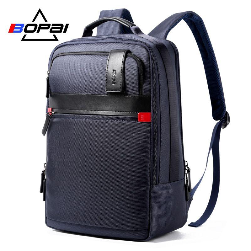 2017 BOPAI Haute qualité oxford hommes de sac à dos hommes sacs de voyage sac à dos étanche école de sacs ordinateur portable sac à dos 15.6 pouce grand
