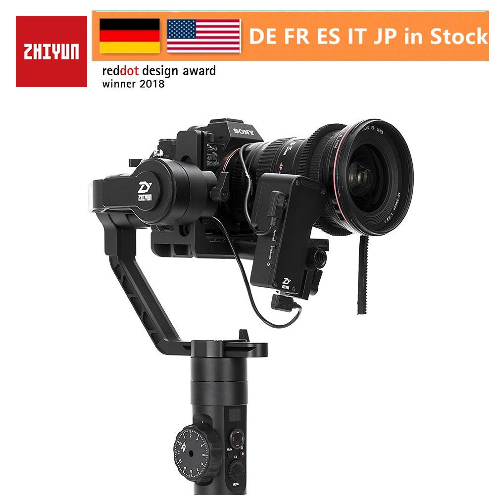 Zhiyun Kran 2 3-Achsen Gimbal Stabilisator für Alle Modelle von DSLR Spiegellose Kamera Canon 5D2/3/ 4 mit Servo Folgen Fokus