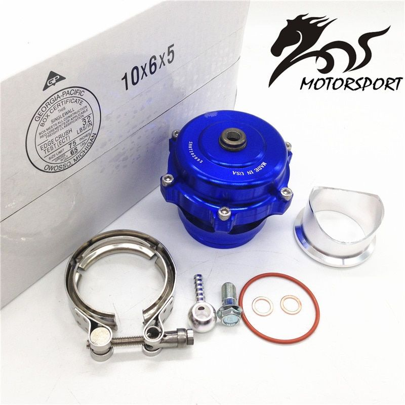 High Quality TIAL style Popular 50mmQ Blow Off Valve CNC BOV Authentic with v-band Flange WITH LOGO