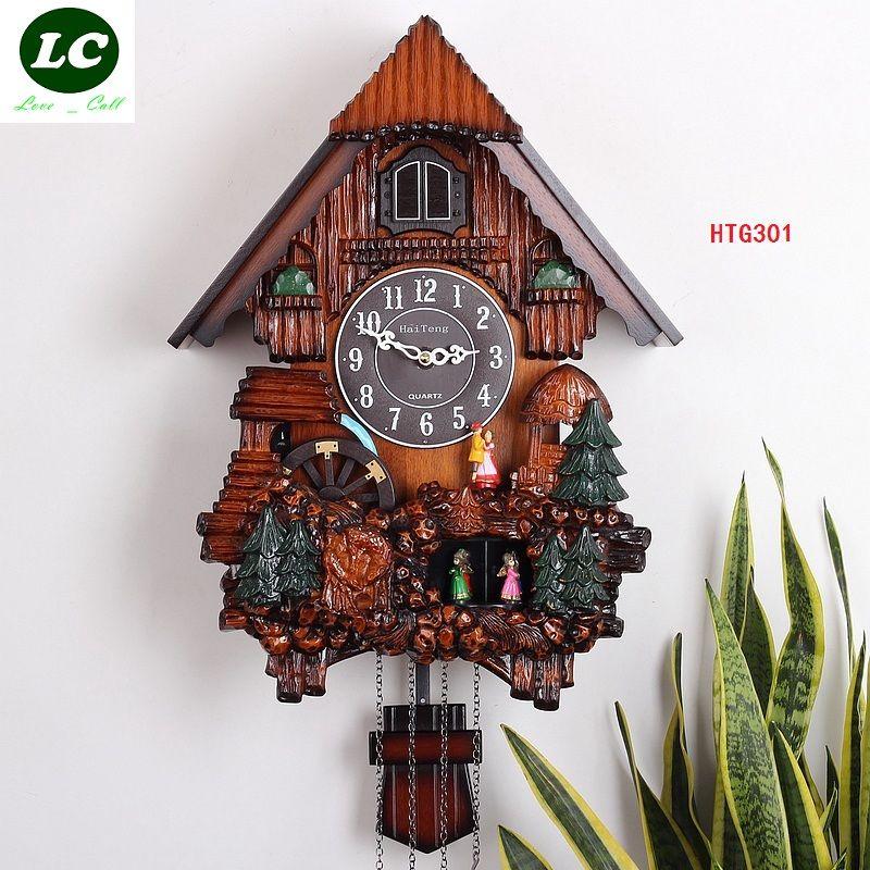 ENVÍO LIBRE KAIROS cuco reloj de alta calidad reloj de pared/reloj de cuco de madera/tiempo de aves la foto del reloj de pared