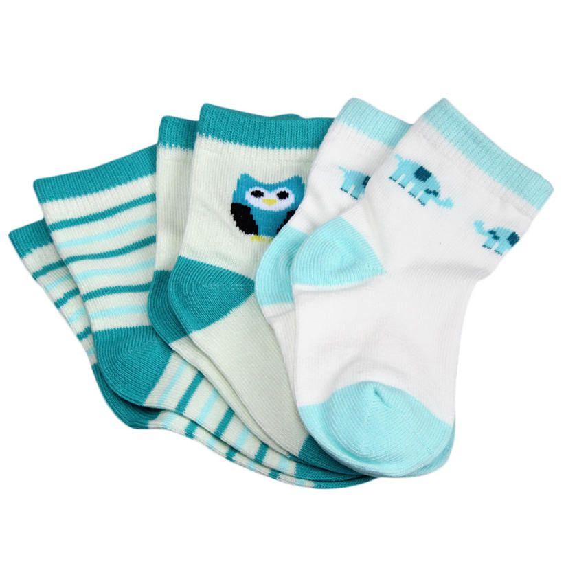 Детские короткие носки 3 пары разных Цвета новорожденных Рождество короткие носки модные милые мягкие M1
