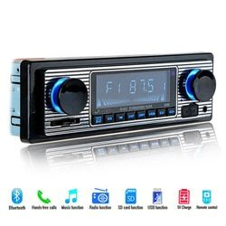 NOUVEAU 12 V De Voiture Radio Lecteur Bluetooth Stéréo FM MP3 USB SD AUX Audio Électronique Automobile autoradio 1 DIN oto teypleri radio par carro