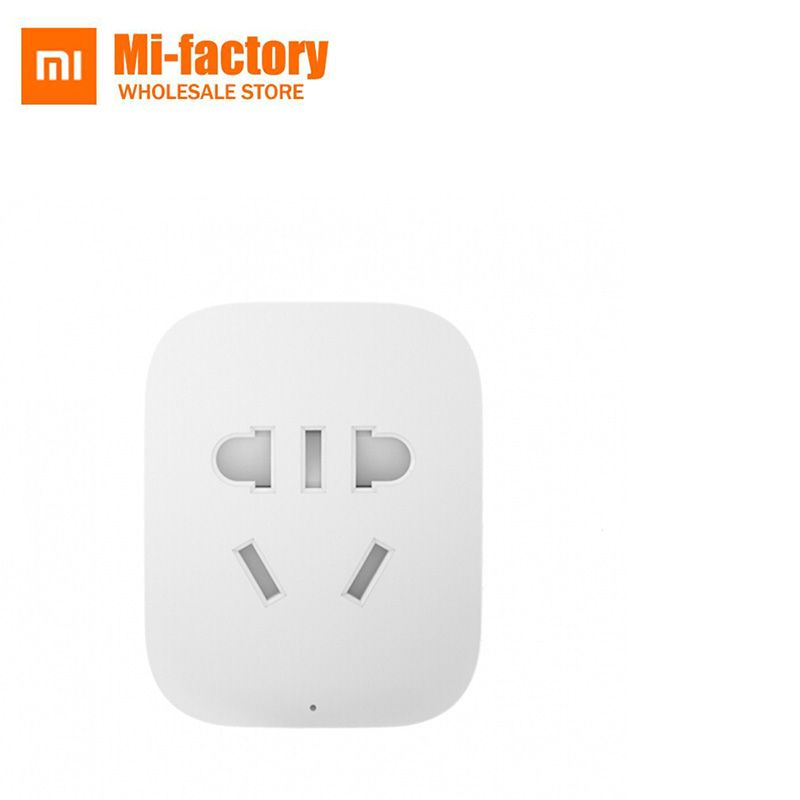 Xiaomi prise de courant Intelligente wifi prise d'alimentation Chargeur De Base pour tv domotique APP Sans Fil À Distance UE US UK UA Socket Adaptateur