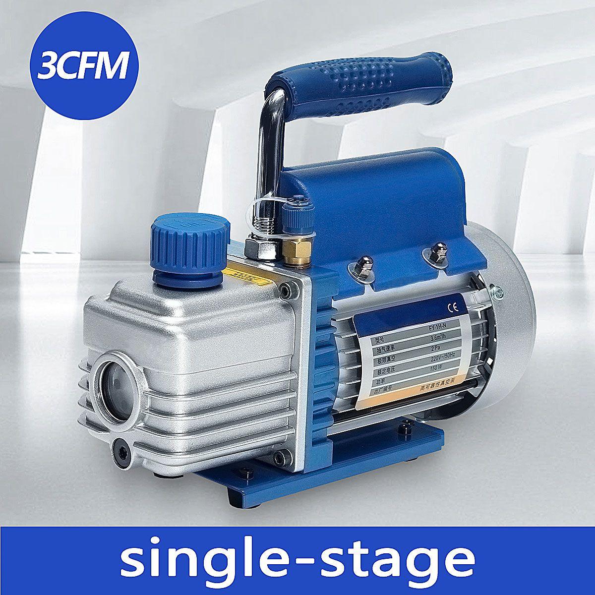 Neue 150W 220V Mini Air Drehschieberpumpe Luft Kompressor LCD Separator Laminieren Maschine HVAC Kälte Reparatur werkzeuge