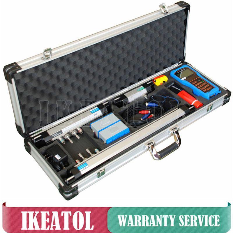 TUF-2000H Handheld Ultrasonic Liquid Flowmeter DN15-100mm HS Mounting Bracket Transducer Digital Professional Flow Meters