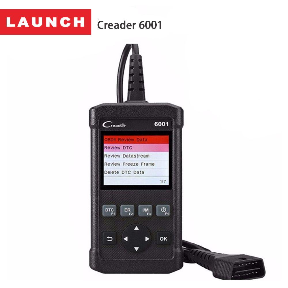 Launch Creader 6001 OBD2 Scanner Auto Diagnostic Scan Tool OBD 2 Autoscanner Fault Code Reader Diagnostics Tools OBDII Universal