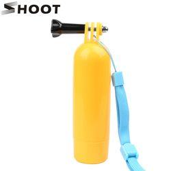 SHOOT Float Hand Grip for GoPro Hero 5 6 4 Xiaomi Yi 4K SJCAM SJ4000 SJ5000 SJ7 h9 Action Camera Stick Bobber Go pro Accessory