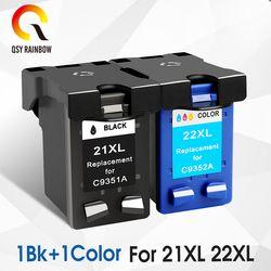 CMYK LIEFERT tinte patrone Ersatz Für hp 21 hp 21 für hp 21 xl Deskjet F380 F2180 F2280 F4180 F4100 F2100 F2200 f300