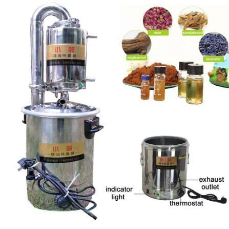 10L/21L/32L/55L New Home/Labor Automatische Moonshine Noch Wasserdestilliergerät Luftreiniger Filter Ätherisches öl Destillation
