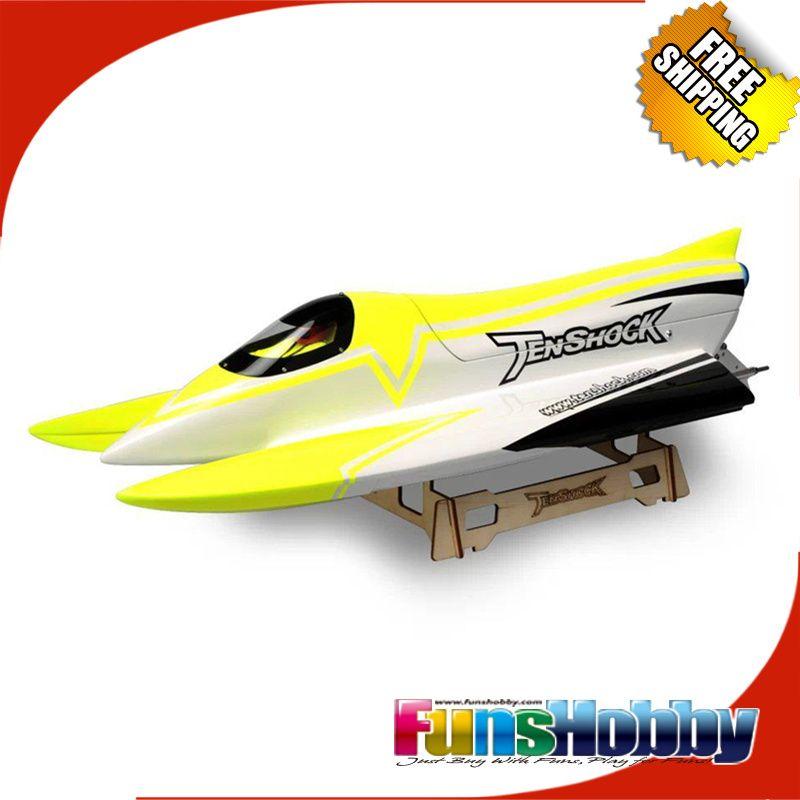 Tenshock F1 Brushless 2,4G RC Formula ARTR LIEFERN Racing Speed Funkfernsteuerung Boot ESC 80A Kinder Cod. TS-B00001/TS-B00002/TS-B00003
