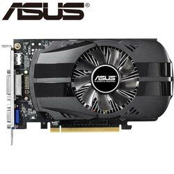 ASUS Graphics Card Original GTX 750 1GB 128Bit GDDR5  Video Cards for nVIDIA Geforce GTX750 Hdmi Dvi Used VGA Cards On Sale