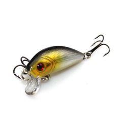 5 Cm 3.5G Bass Floating Ikan Kecil Umpan Buatan Ikan Umpan Umpan Keras Berenang Memancing Samll Crankbait M016