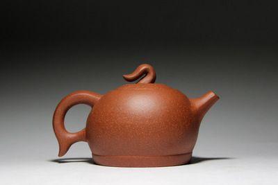 Feihong pot capacity of about 230cc ore slope mud Yixing teapot