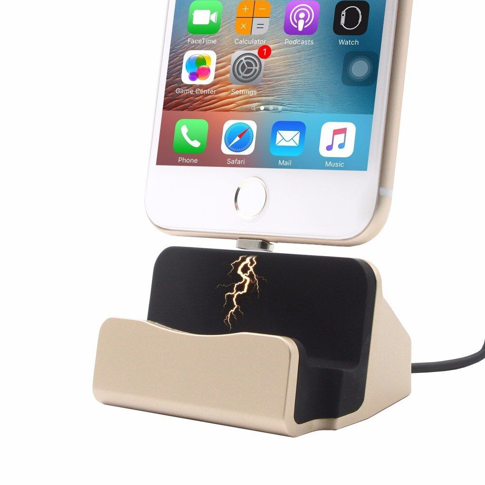 3 in 1 Sync Data Charging Magnetic Charger USB Cable Dock Station Desktop Docking For iPhone 5 SE 6 7 Plus iPod Android Type C
