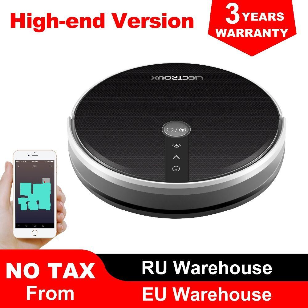 LIECTROUX C30B Roboter Staubsauger, Karte navigation mit Speicher, Wifi APP Control, 3000 pa Saug Power, smart Elektrische Wasser tank,