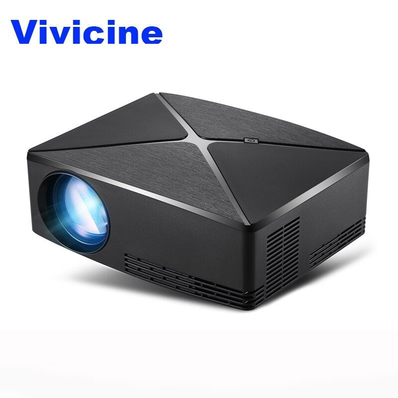 Vivicine C80/C80UP Tragbare LED-Mini-Projektor, optional WIFI android Bluetooth HDMI USB Heimkino Video Spiel Projektor Beamer