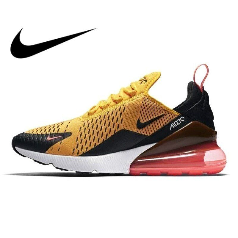 Original authentic NIKE Air Max 270 men's running shoes full color classic outdoor sports shoes comfortable breathableAH8050-006
