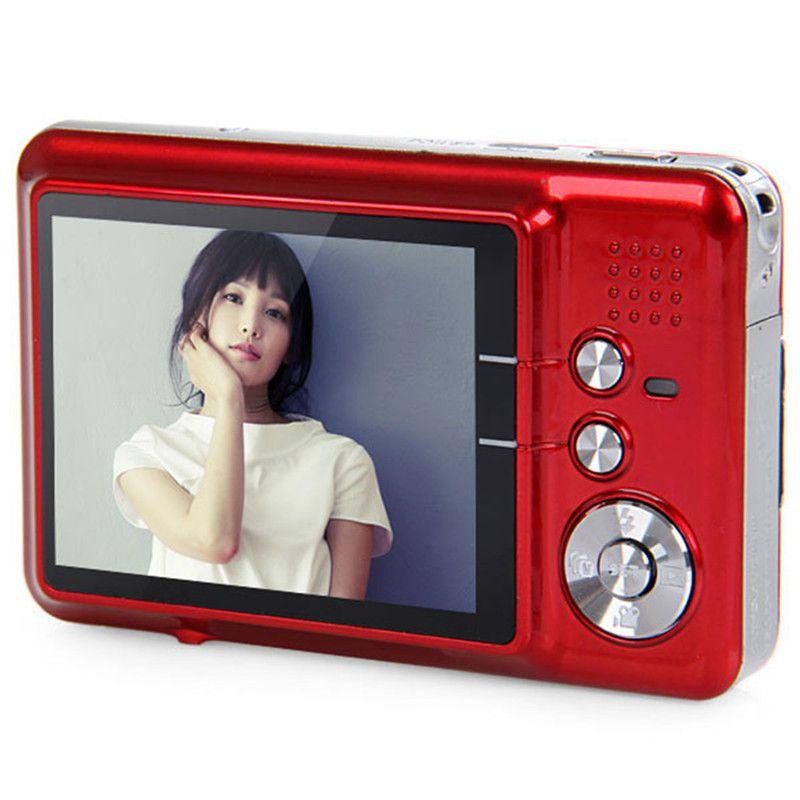 Amkov 18 Megapixel Camara Fotografica Digital 2.7'' TFT LCD Display Portable Shoot Digital Cameras Face Tracking Video Camcorder