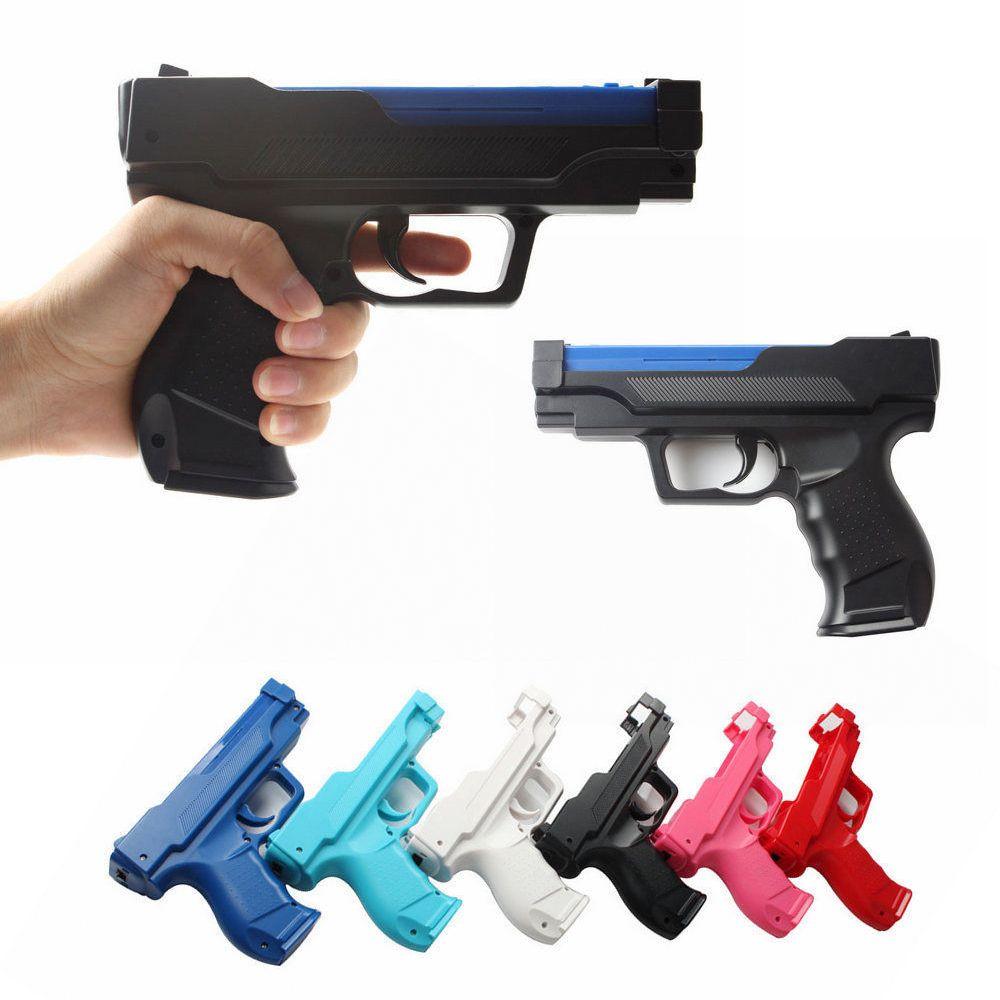 Zapper Gun For Nintend Wii Pistol Shooting Gun For Remote Controller Video Game Gun Bracket Holder For Wii Game Accessories